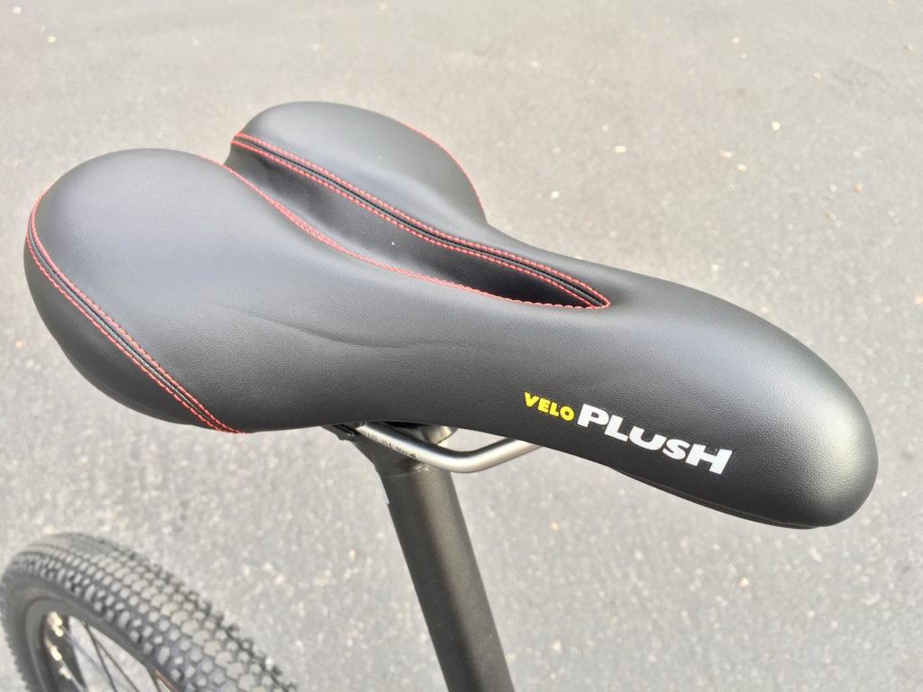 ProdecoTech Phantom XR electric bike veloplush saddle