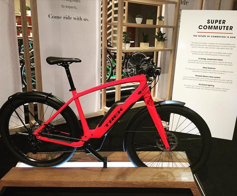 Trek Super Commuter electric bike 1