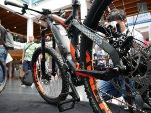 Haibike Yamaha electric mountain bike