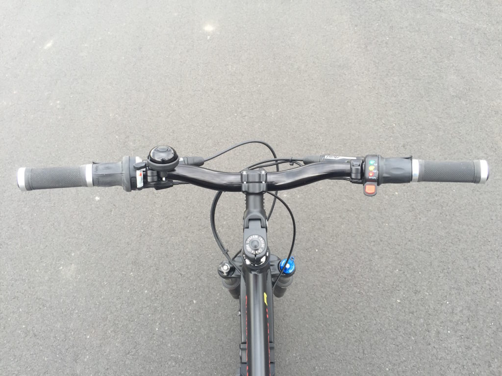ProdecoTech Phantom XR electric bike handlebars