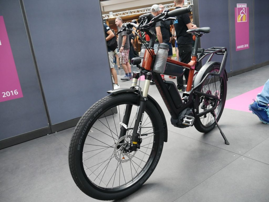Reise Muller electric bike double Bosch battery