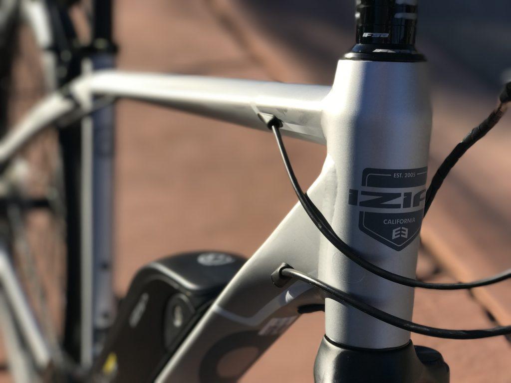 izip-e3-dash-electric-bike-headtube