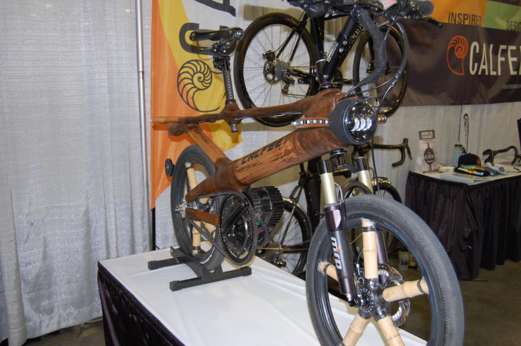 Calfee bamboo electric bike 1