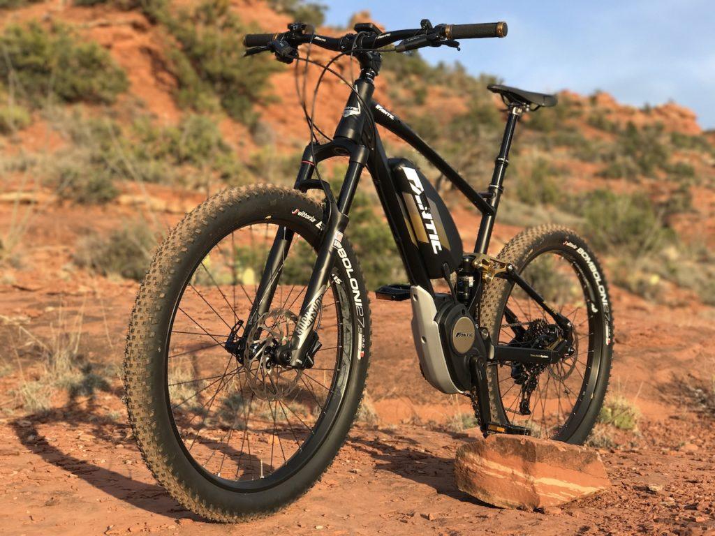 Fantic XF1 Casa electric mountain bike 10