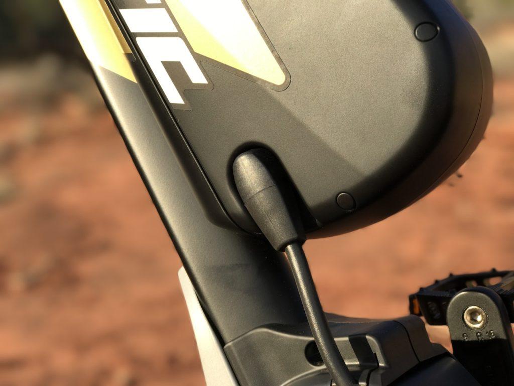 Fantic XF1 Casa electric mountain bike battery connector