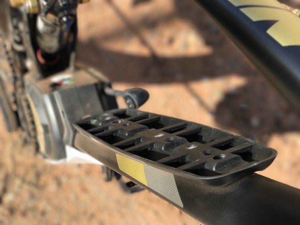 Fantic XF1 Casa electric mountain bike battery mount