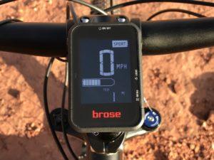 Fantic XF1 Casa electric mountain bike brose display