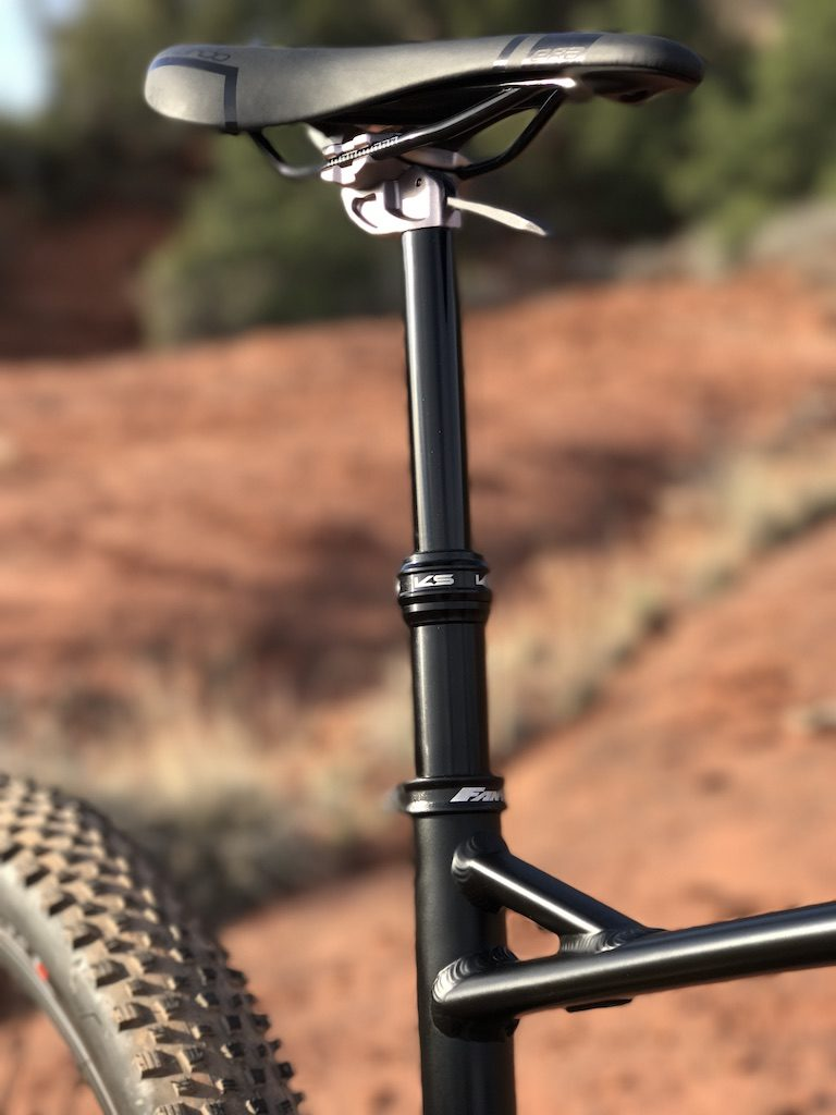 Fantic XF1 Casa electric mountain bike dropper post