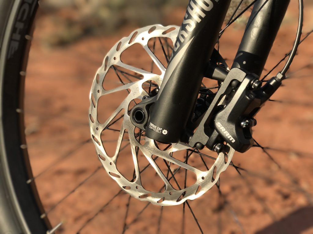 Fantic XF1 Casa electric mountain bike front disc brake