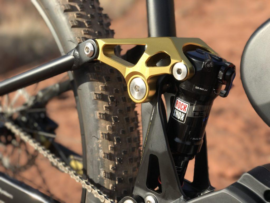 Fantic XF1 Casa electric mountain bike rear suspension