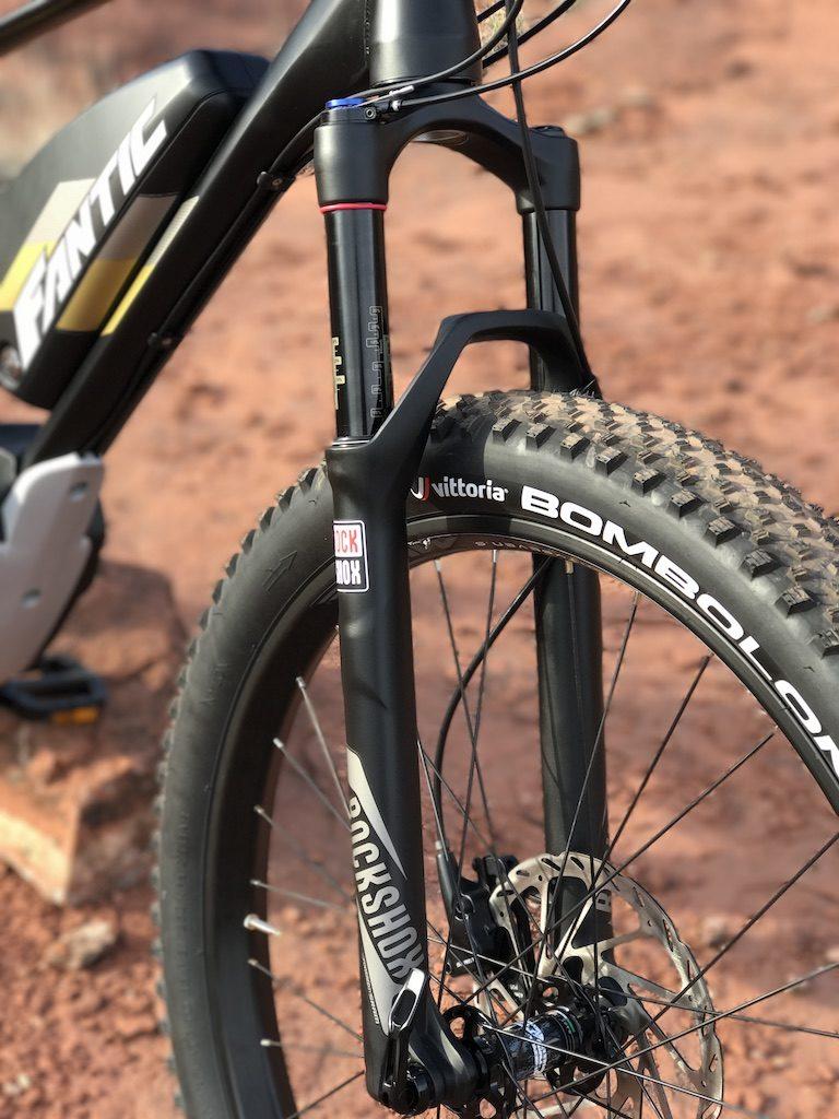Fantic XF1 Casa electric mountain bike suspension fork