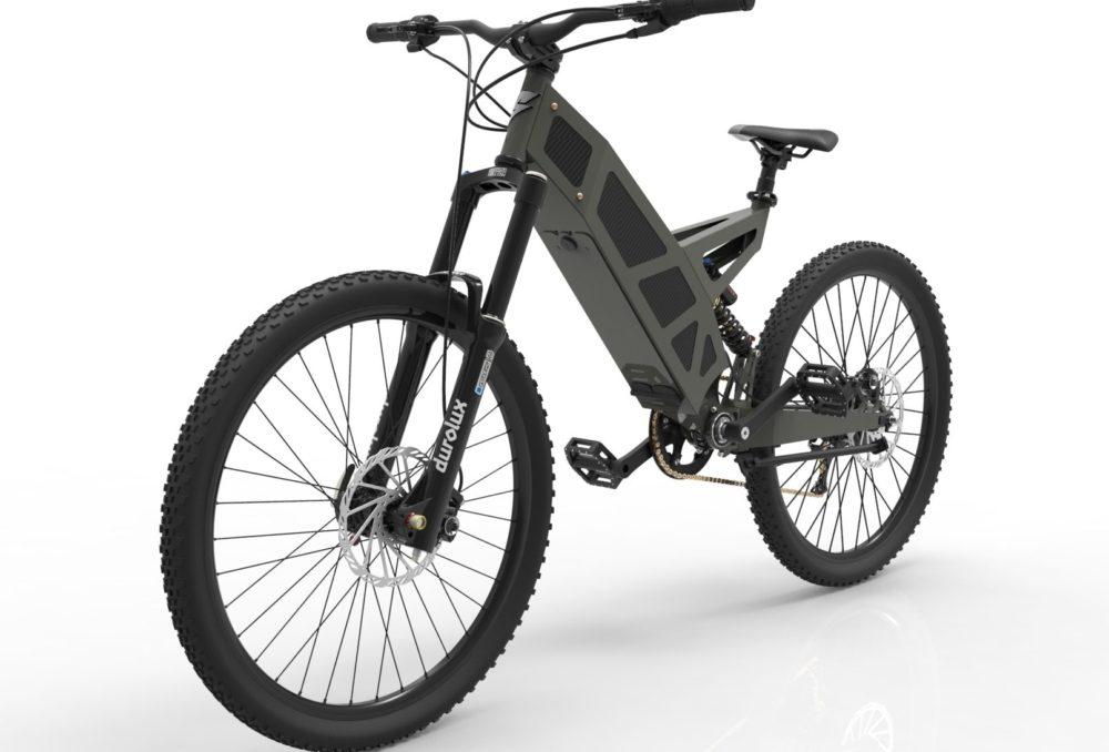 Stealth P-7 electric bike