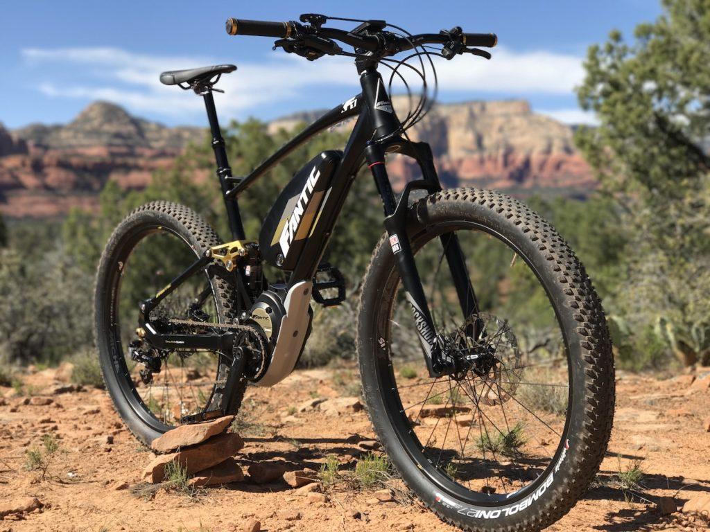 Fantic XF1 Casa electric mountain bike 1a