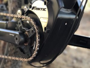 Fantic XF1 Casa electric mountain bike Brose motor mount