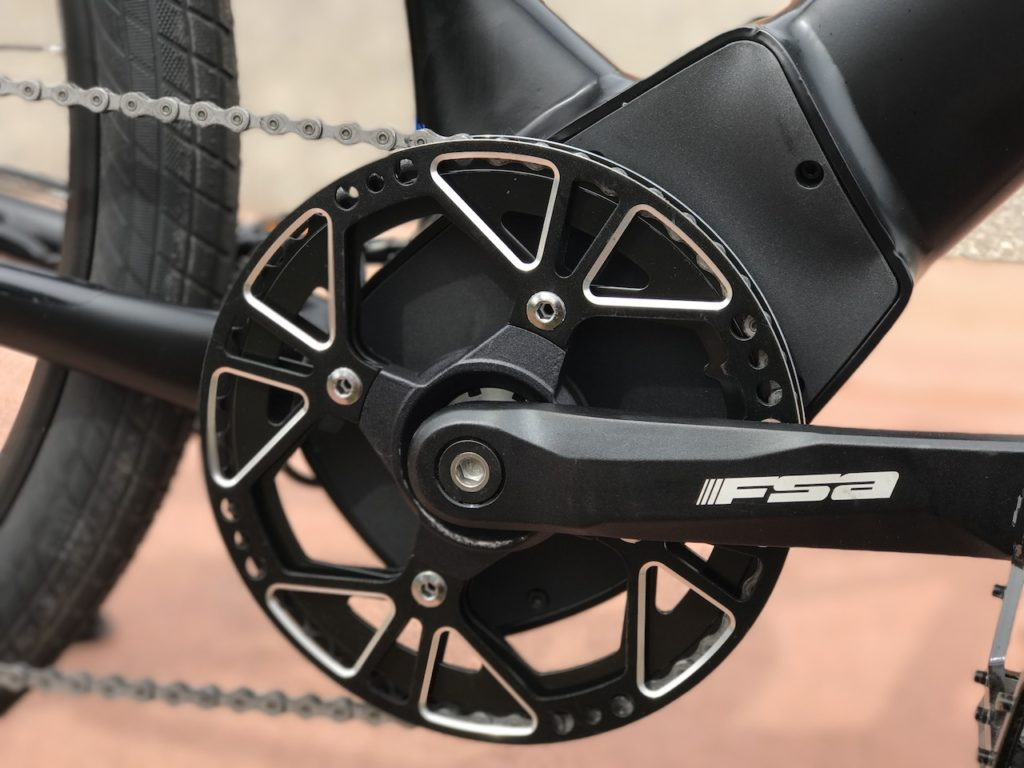 Raleigh Redux iE electric bike brose mid drive motor