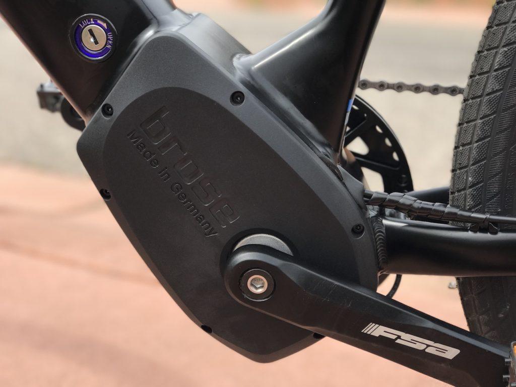 Raleigh Redux iE electric bike brose motor