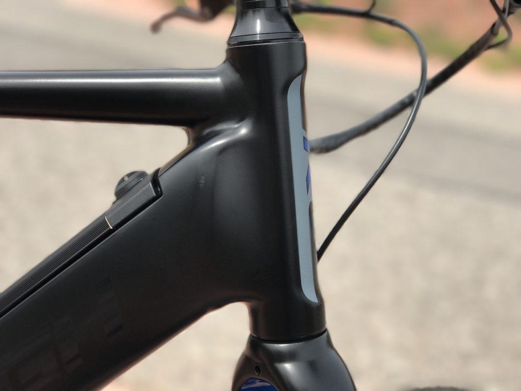 Raleigh Redux iE electric bike headtube 2