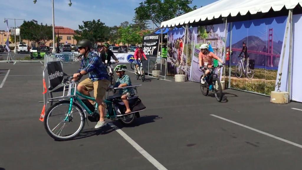 Electric Bike Expo track