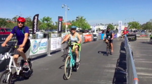 Electric Bike Expo riding