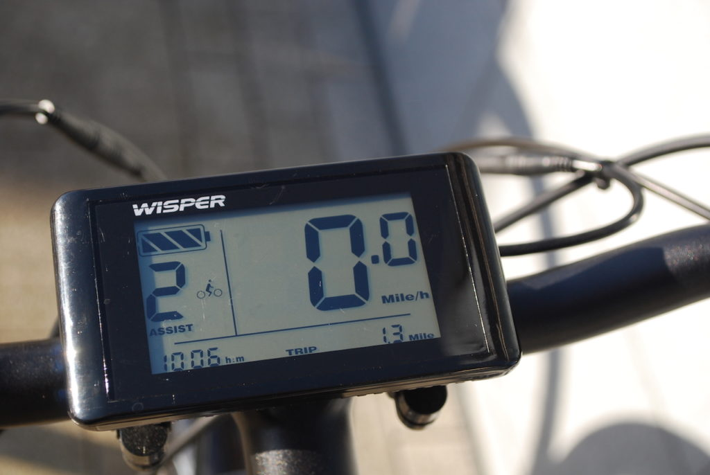 Wipser 705 electric bike display