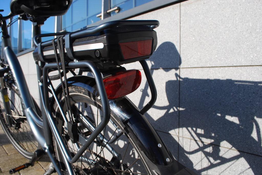 Wipser 705 electric bike rear rack battery