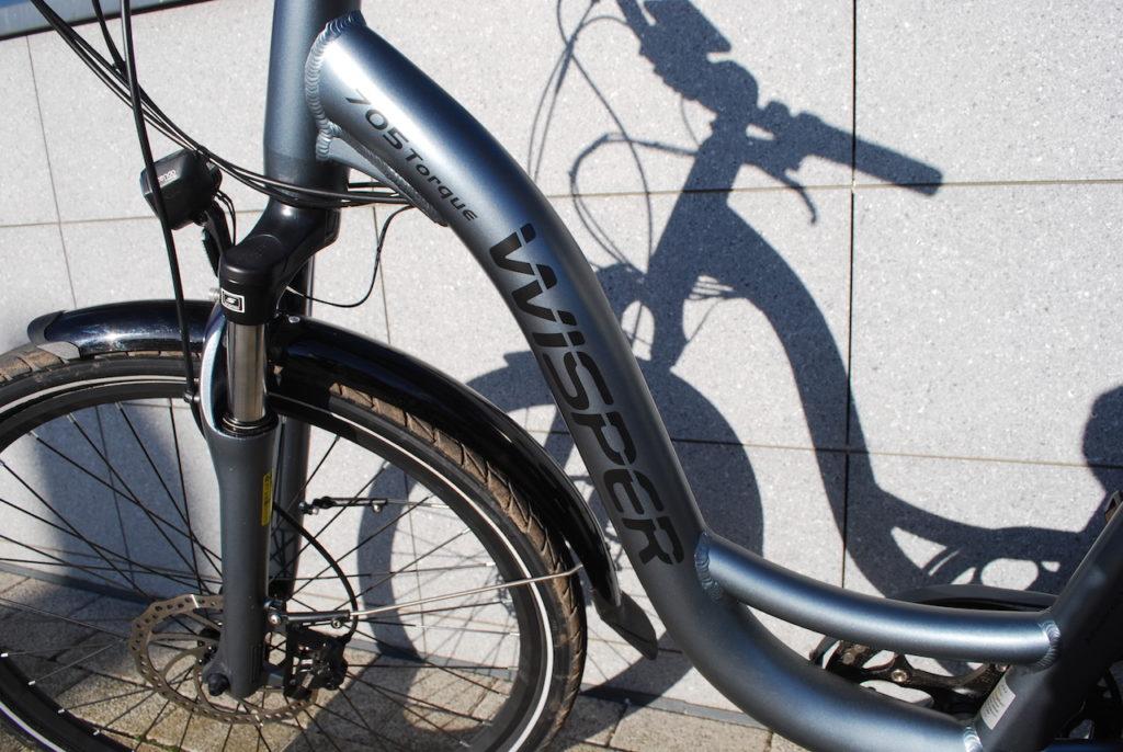 Wipser 705 electric bike step thru frame