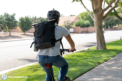 Chrome_BLCKCHRM_Backpack_Riding_with_Bag_2