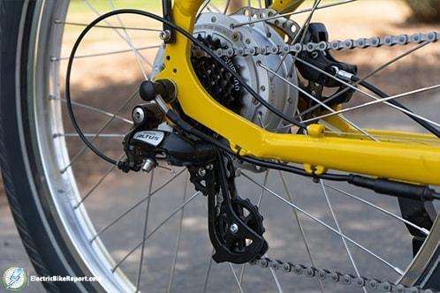Electric Bike Company - Model R - Derailiuer-min