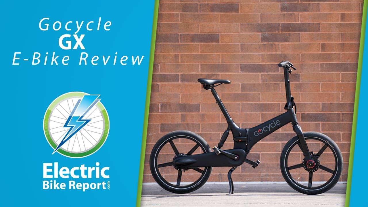 Electric Bike Report - GoCycle GX