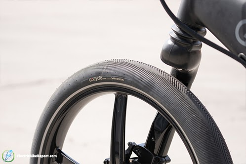 GoCycle GX Tire Side Cargo