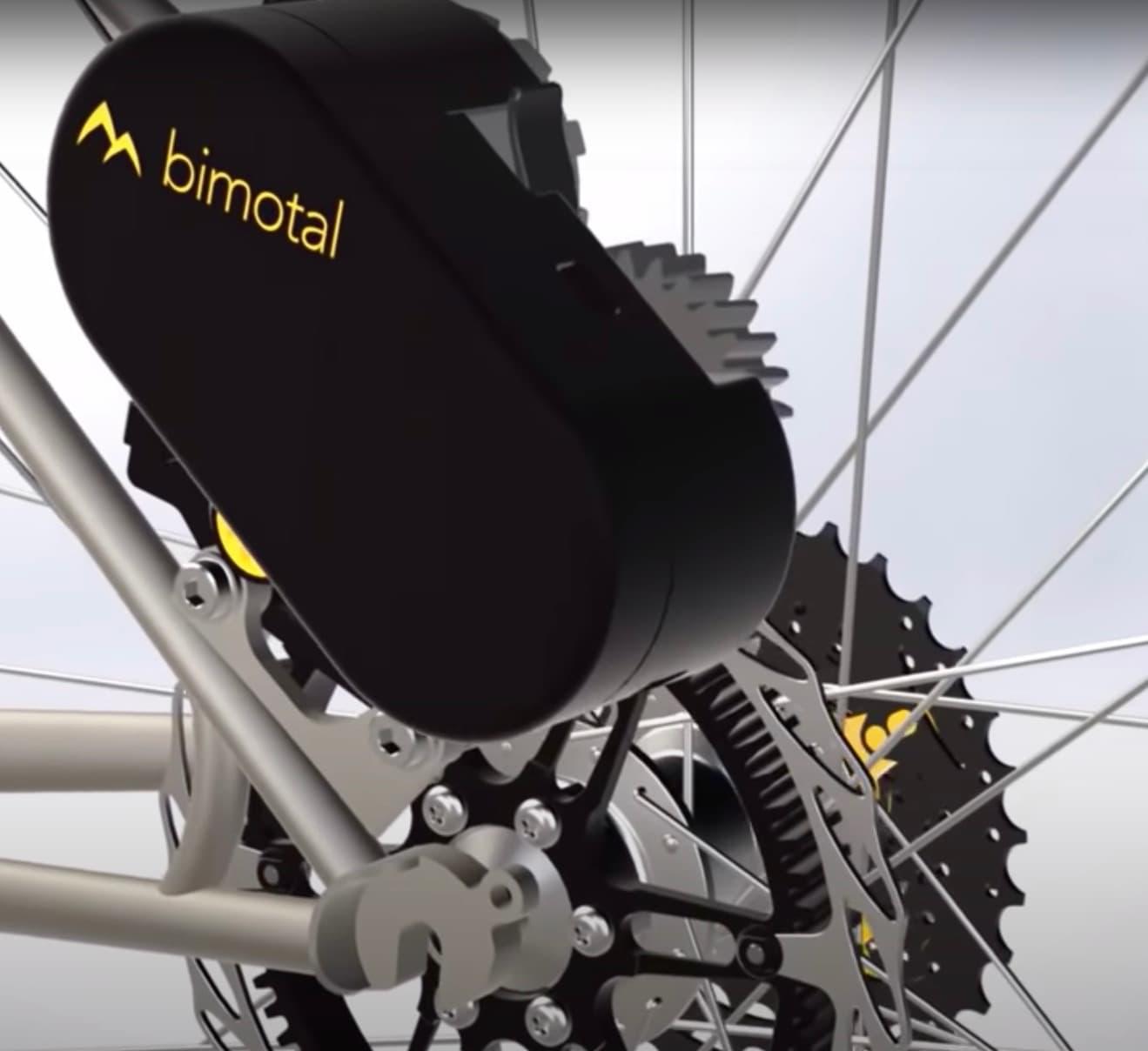 Bimotal mounted