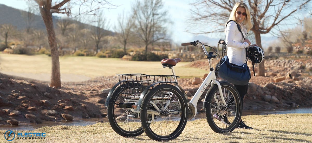 Evelo Compass best electric trike for seniors