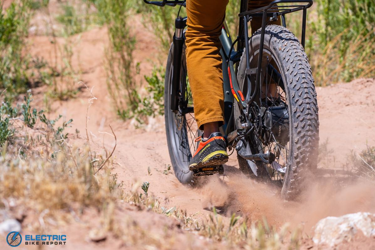 Aventon - Aventure - Fat Tires Loose Sand