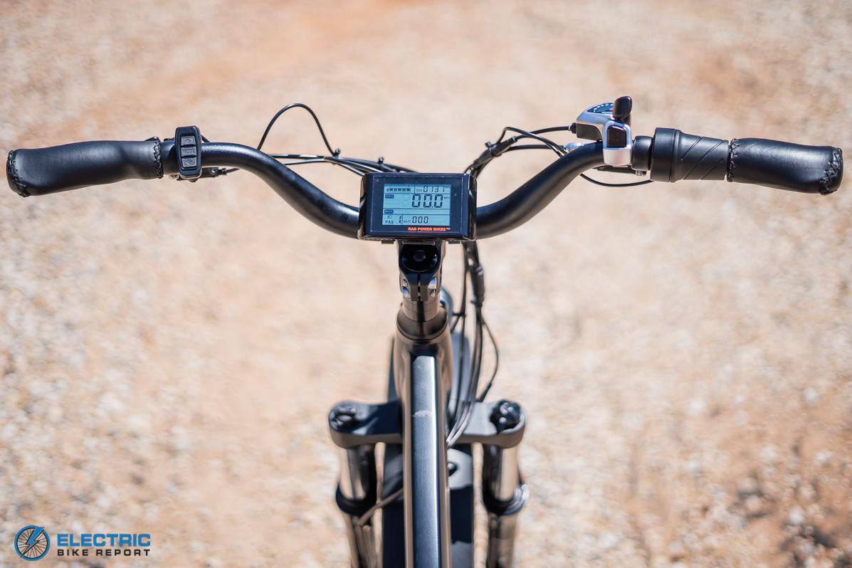 Rad Power Bikes - Rad Rover 5 - Cockpit
