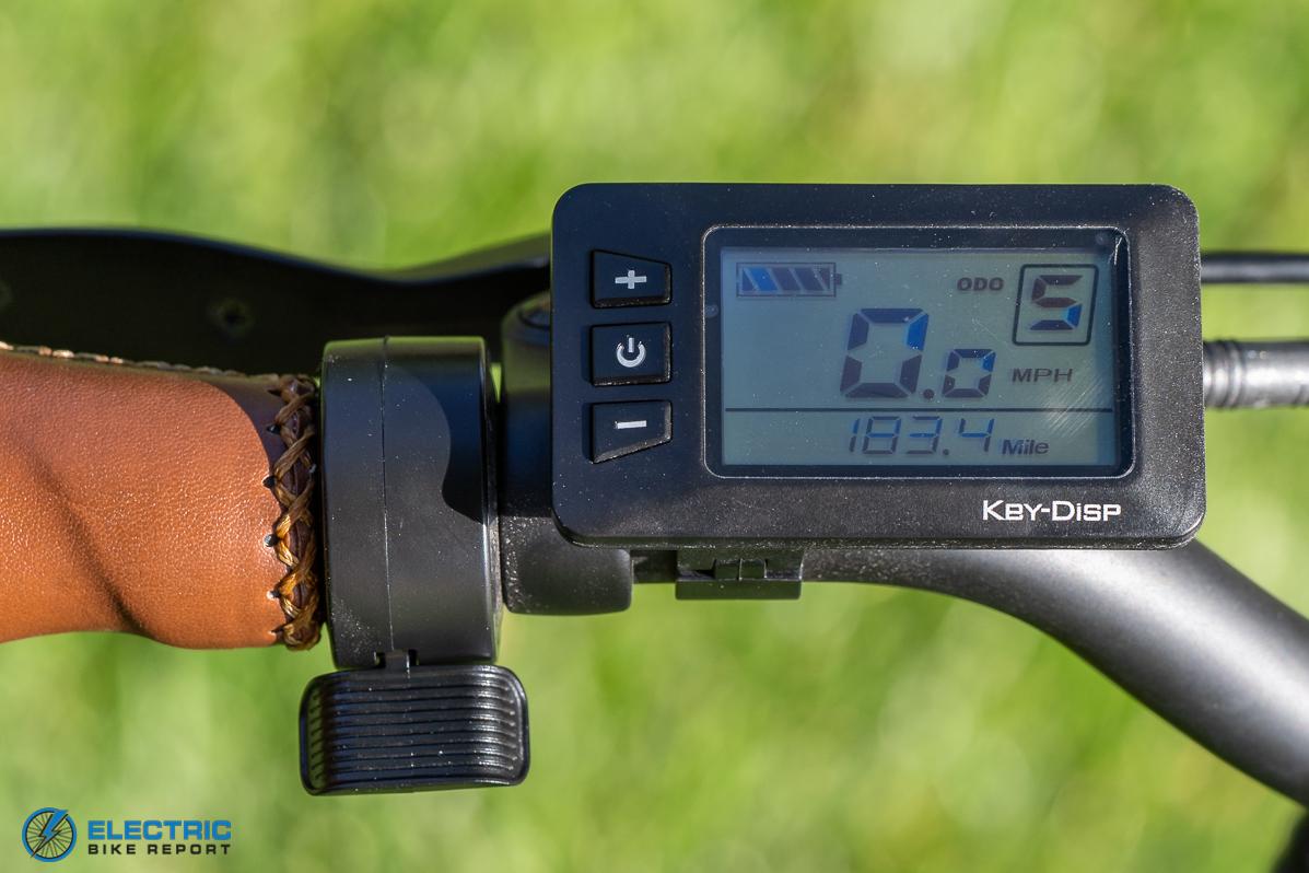 Ride1UP - 500 Series - LCD Display
