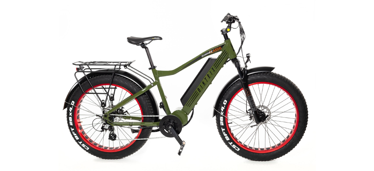 Biktrix Juggernaut Classic Fat Tire E-Bike