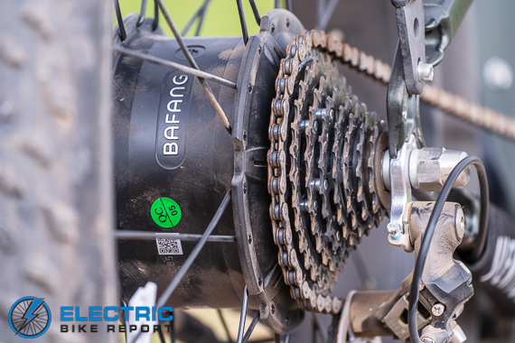 Aventon Aventure Bafang Geared Hub Motor