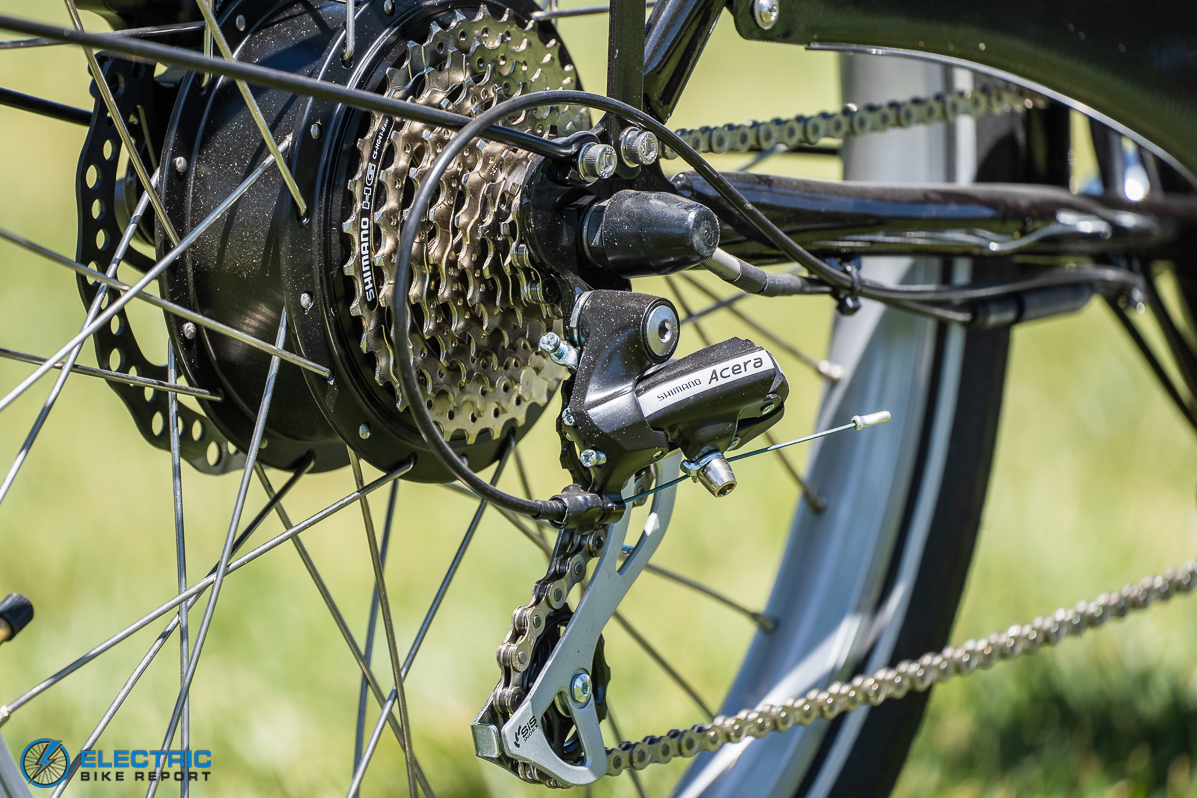 Bunch Bikes - The Original - Shimano Acera Drivetrain