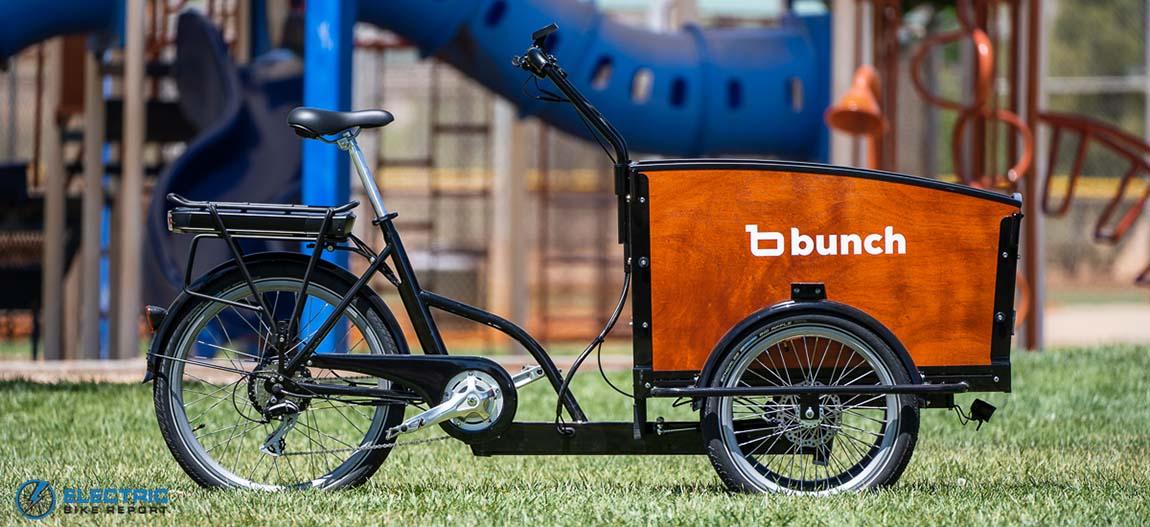 Bunch Bikes The Original  best electric cargo bikes