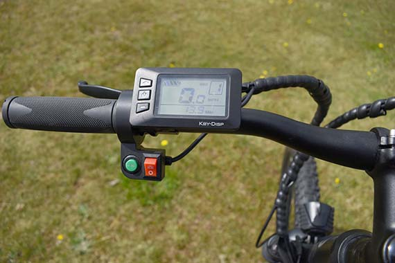Clear-LCD-display-eskute-voyager-electric-bike-review