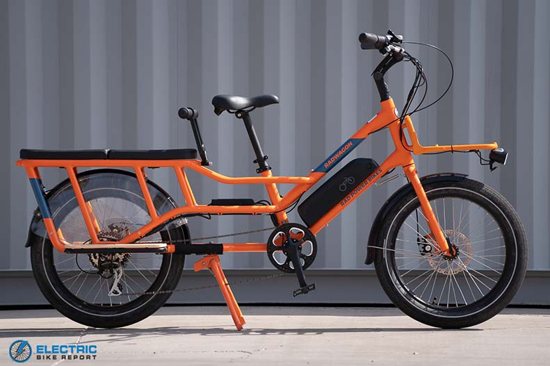 RadPowerBikes RadWagon 4 best electric cargo bikes