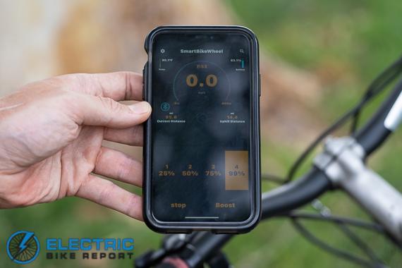 Smart Bike Wheel - App
