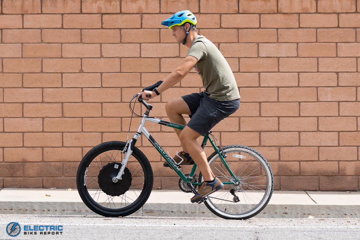 Smart Bike Wheel Conversion Kit Review - Riding