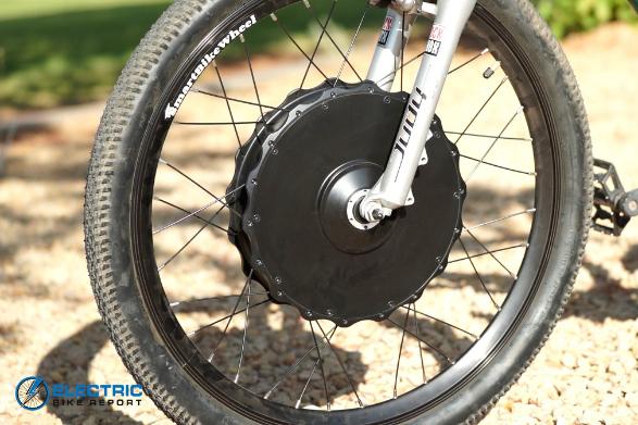 Smart Bike Wheel - Mounting Side