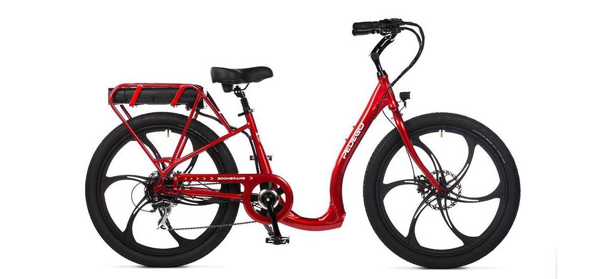 pedego boomerang best electric bikes for seniors