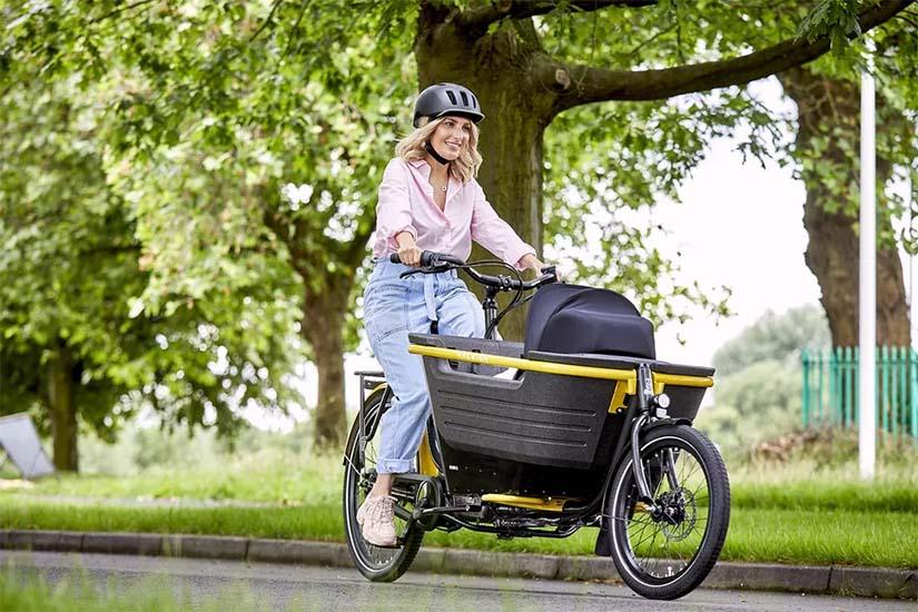 raleigh cargo e bike