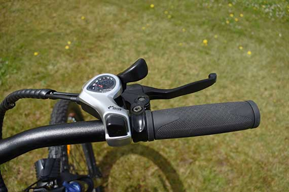 Eskute Voyager's Shimano Shifters