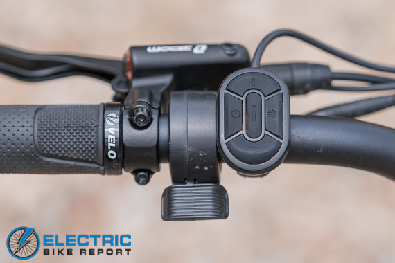 Aventon Aventure Step Through Review LCD Display