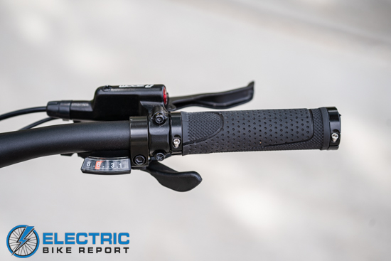 Aventon Level Step Through - 8-Speed Shimano Shifters