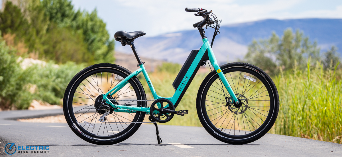 Aventon Pace 500 Step Through Electric Bike Review 2021